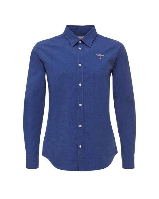 Aeronautica Militare | Мужская Синяя Рубашка