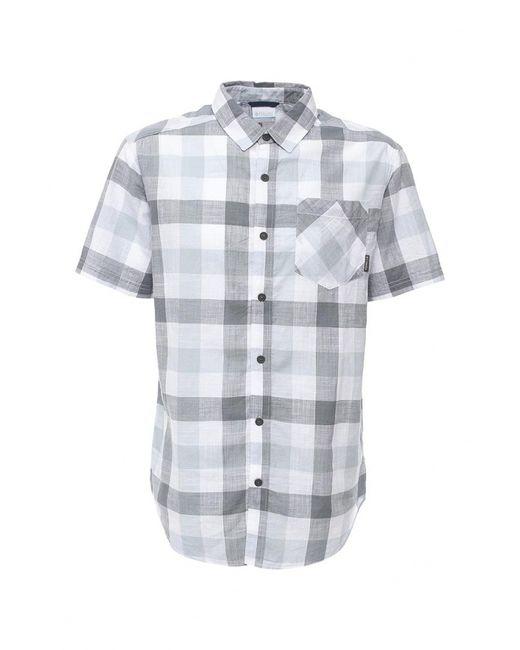 Columbia   Мужская Серая Рубашка