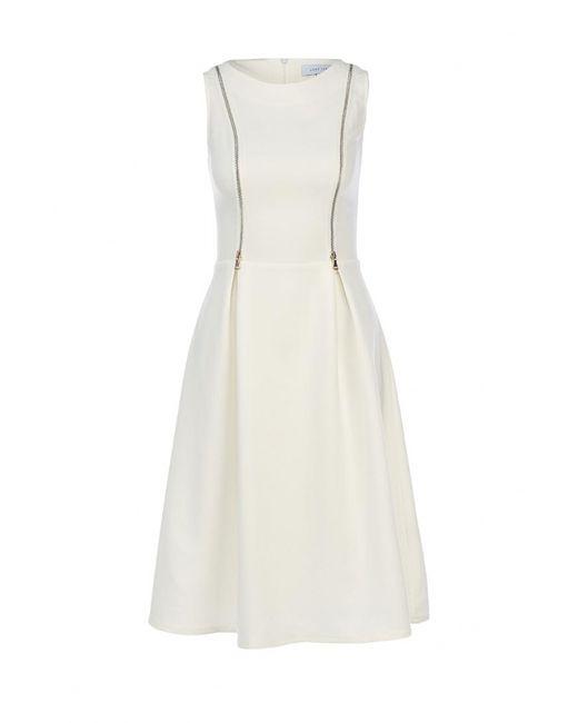 LOST INK | Женское Белое Платье
