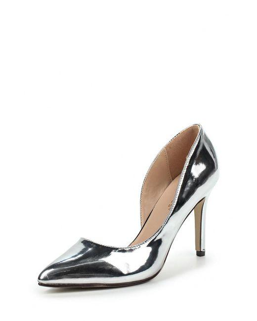 Ideal | Женские Серебряные Туфли