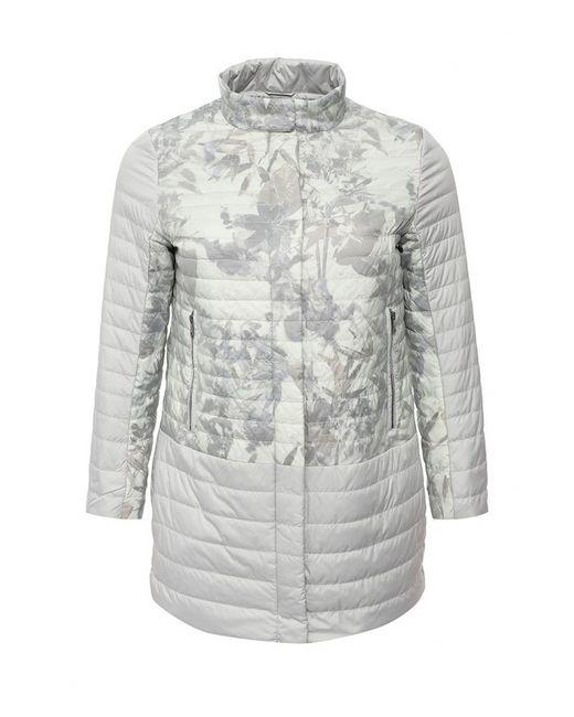 Clasna | Женская Серая Куртка Утепленная