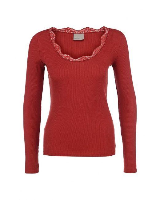 Vero Moda | Женский Красный Лонгслив