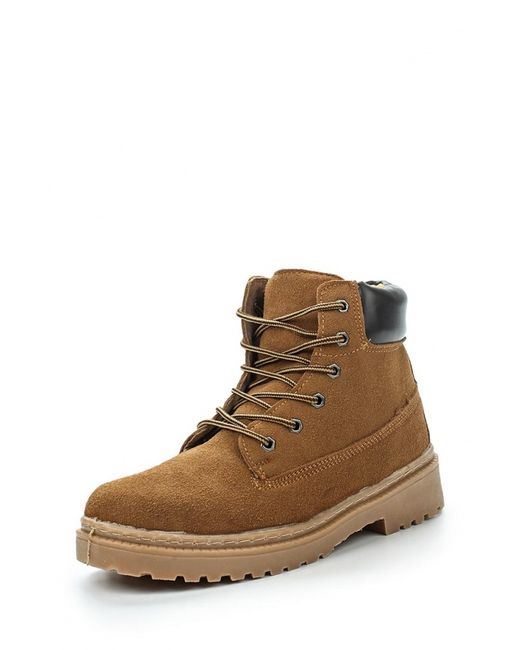 Topway | Мужские Горчичные Ботинки