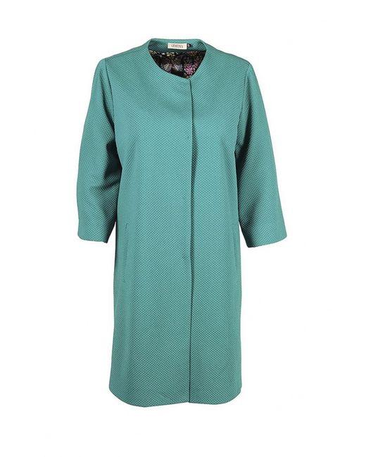 Grafinia | Женское Зелёное Пальто
