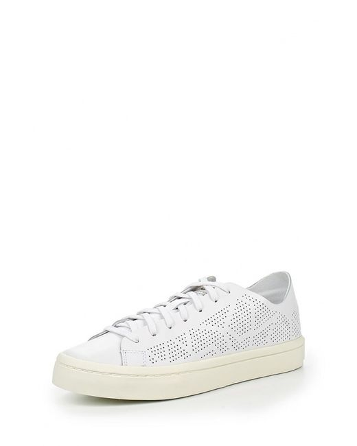 adidas Originals   Женские Белые Кеды