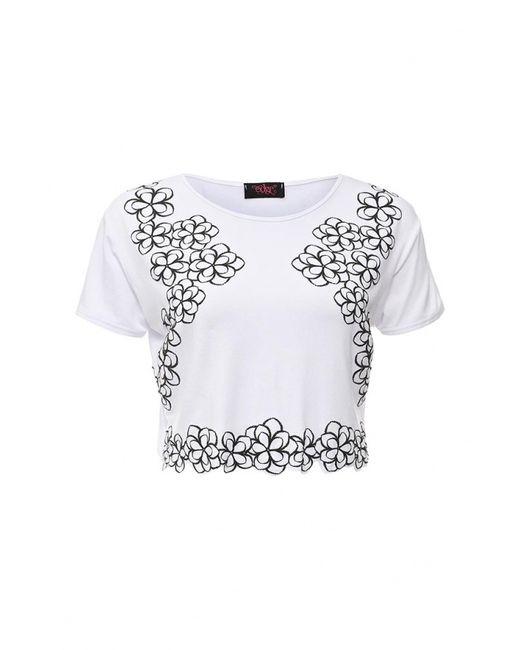 Edge Clothing   Женская Белая Футболка