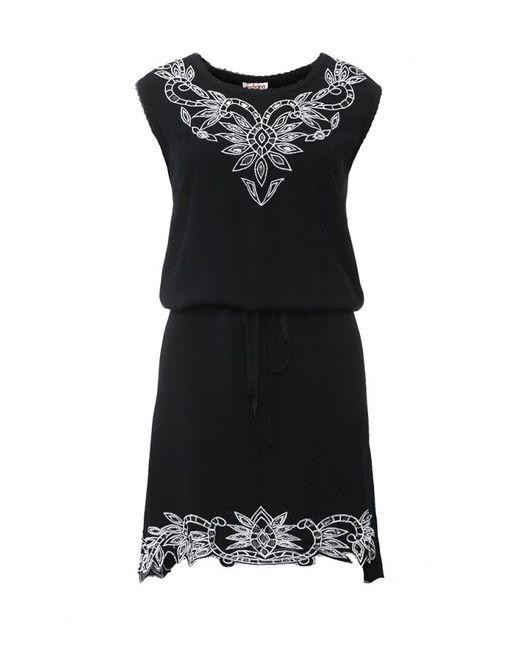 Indiano Natural | Женское Чёрное Платье