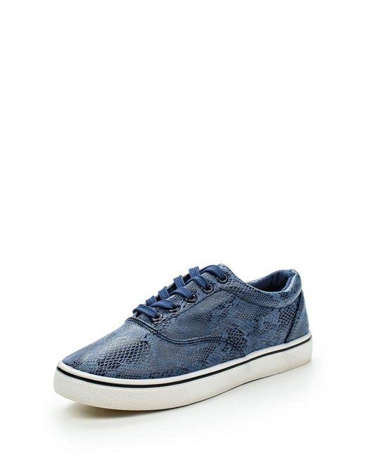 WS Shoes   Женские Синие Кеды