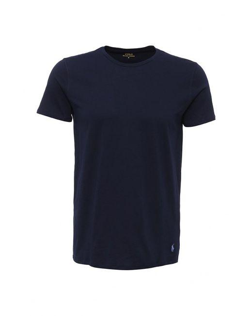 Polo Ralph Lauren | Мужская Синяя Футболка