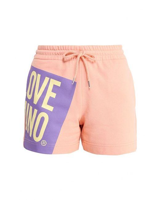 Love Moschino | Женские Розовые Шорты