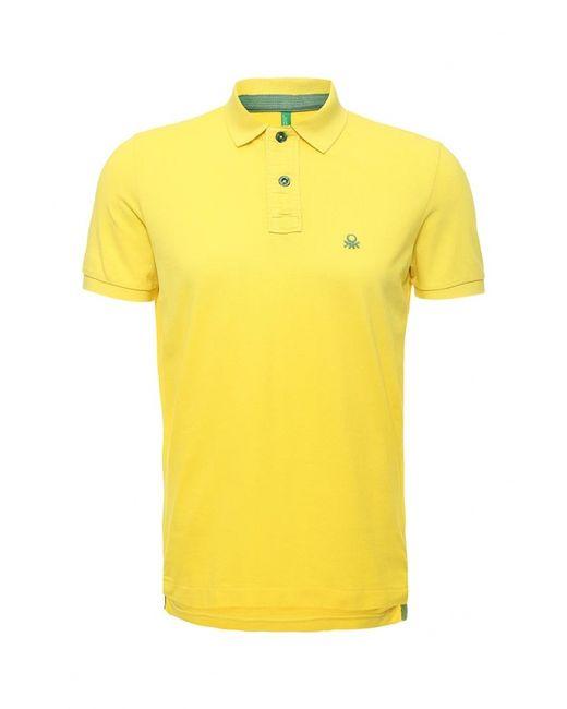 United Colors Of Benetton | Мужское Жёлтое Поло