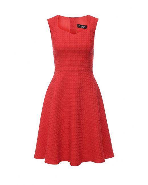 Love My Body   Женское Красное Платье
