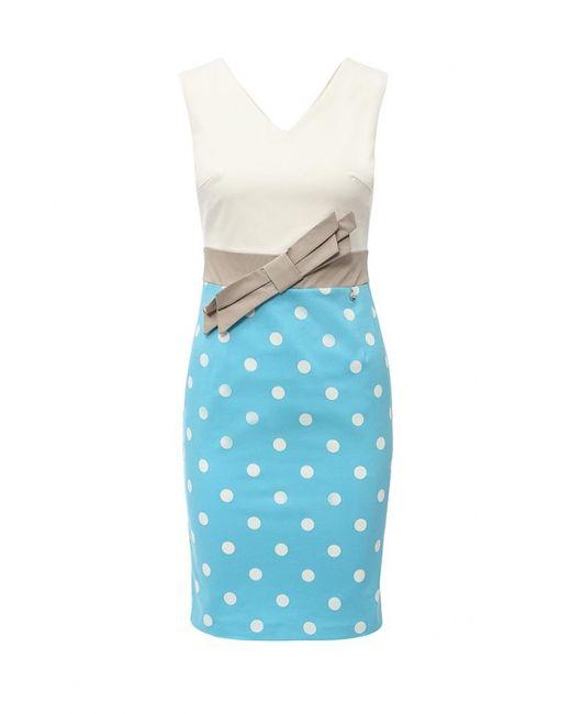 Rinascimento | Женское Голубое Платье