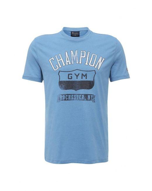Champion | Мужская Голуба Футболка