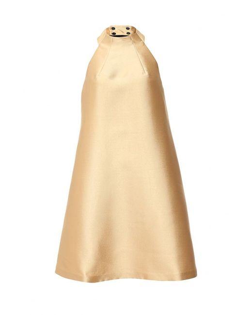 Finery London | Женское Золотое Платье