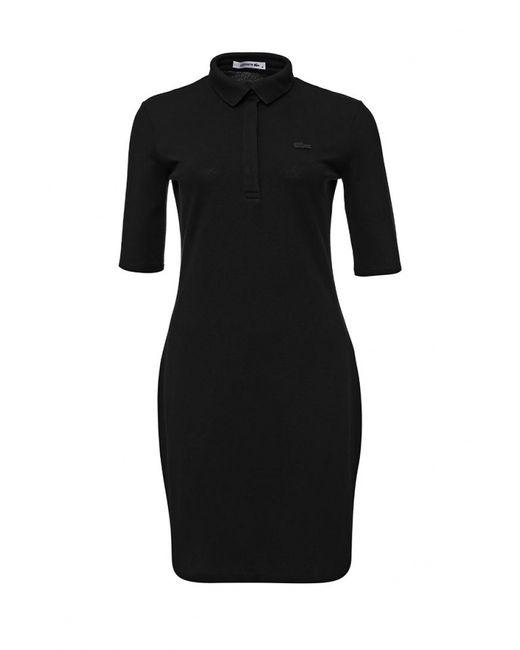 Lacoste | Женское Чёрное Платье