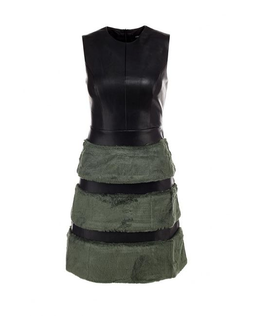 LOST INK | Женское Чёрное Платье