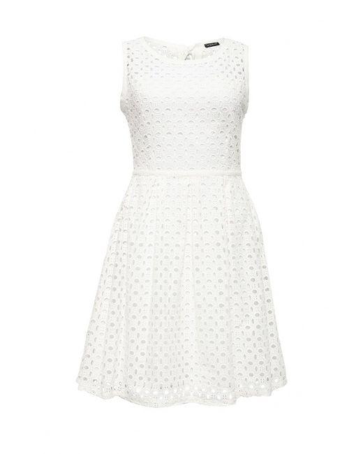 MOTIVI   Женское Белое Платье
