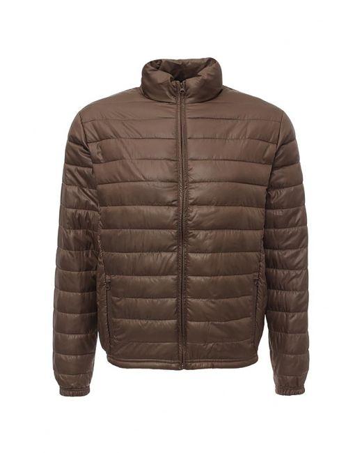 BIAGGIO | Мужская Коричневая Куртка Утепленная
