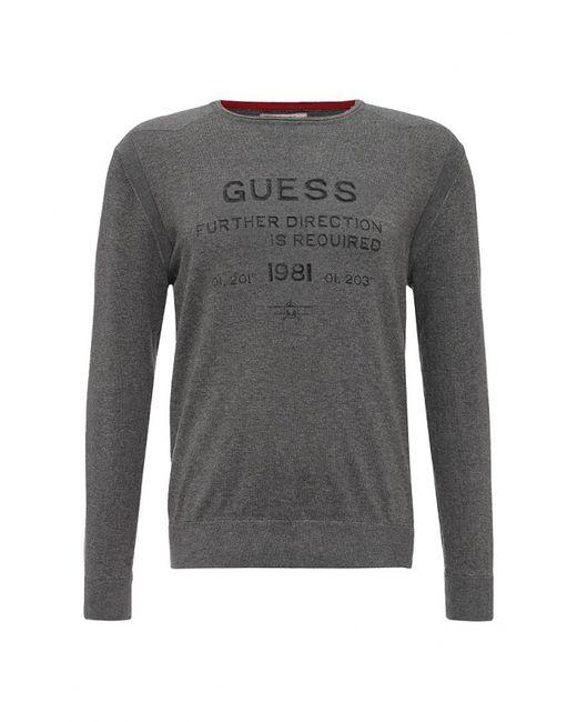 Guess   Мужской Серый Джемпер Jeans