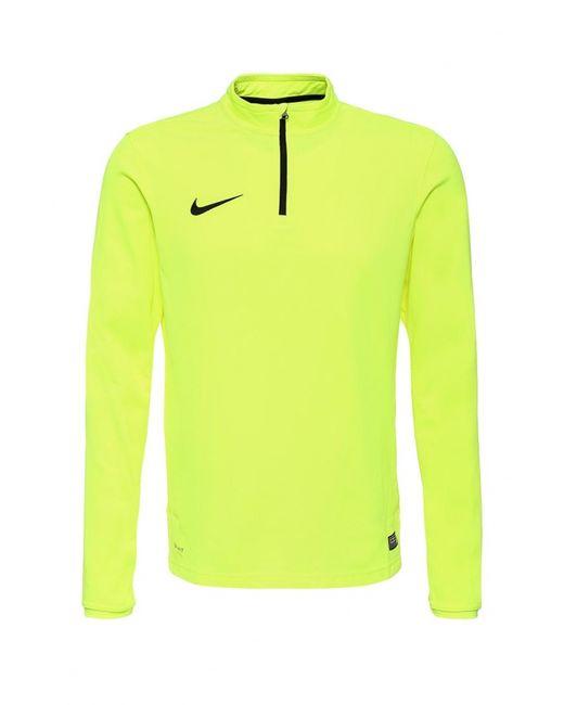 Nike | Мужской Жёлтый Лонгслив Спортивный