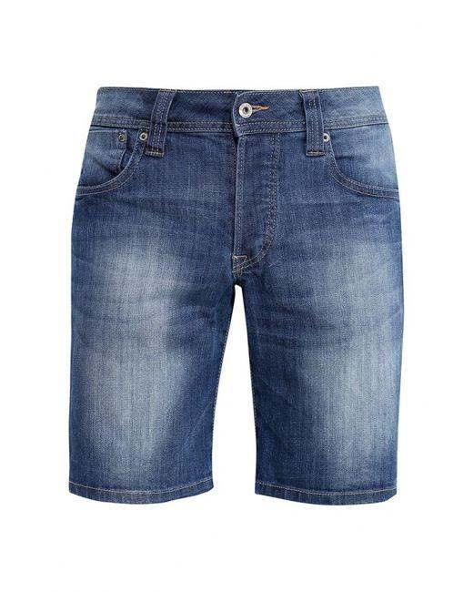 Pepe Jeans London | Мужские Синие Шорты Джинсовые