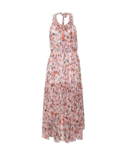 Pinko | Женское Розовое Платье
