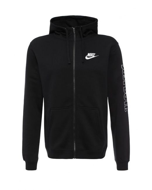 Nike   Мужская Чёрная Толстовка