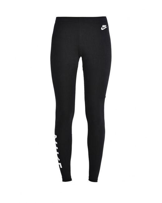 Nike | Мужские Чёрные Леггинсы