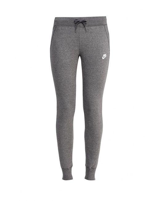 Nike | Мужские Серые Брюки Спортивные