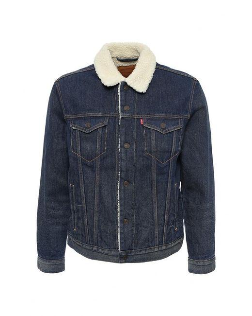 Levi's®   Мужская Синяя Куртка Джинсовая