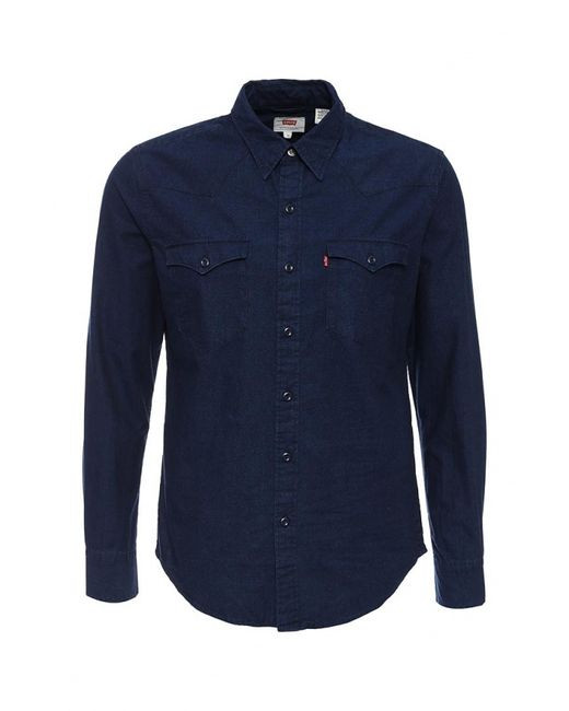 Levi's® | Мужская Синяя Рубашка Джинсовая