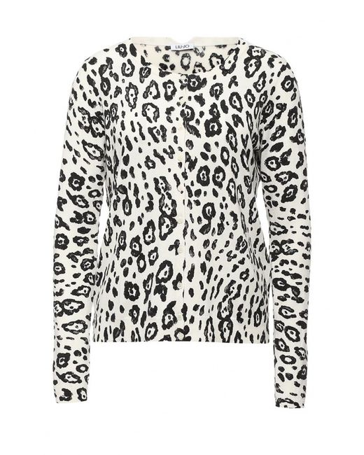 Liu •Jo Jeans | Женский Белый Кардиган Liu Jo Jeans