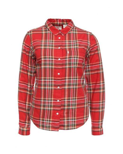 Levi's® | Женская Красная Рубашка