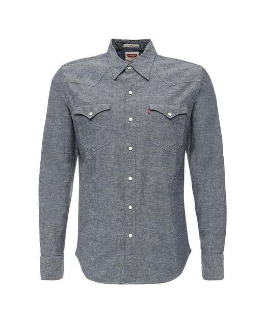 Levi's®   Мужская Синяя Рубашка Джинсовая