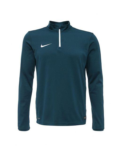 Nike | Мужской Зелёный Лонгслив Спортивный
