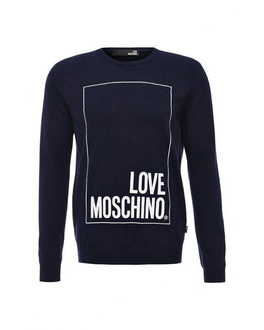 Love Moschino | Мужской Синий Джемпер