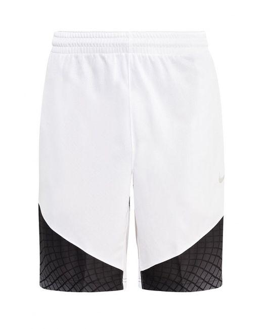 Nike   Мужские Белые Шорты Спортивные