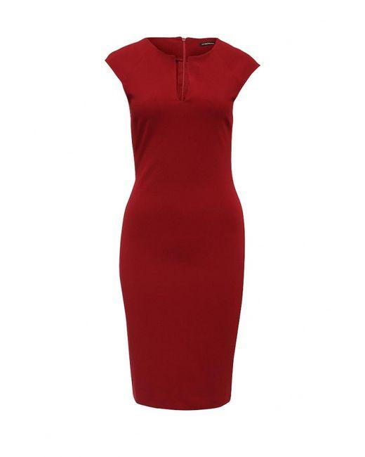 MOTIVI   Женское Красное Платье