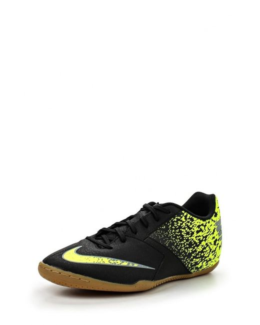 Nike   Мужские Чёрные Бутсы Зальные