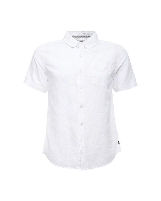MeZaGuz   Мужская Белая Рубашка