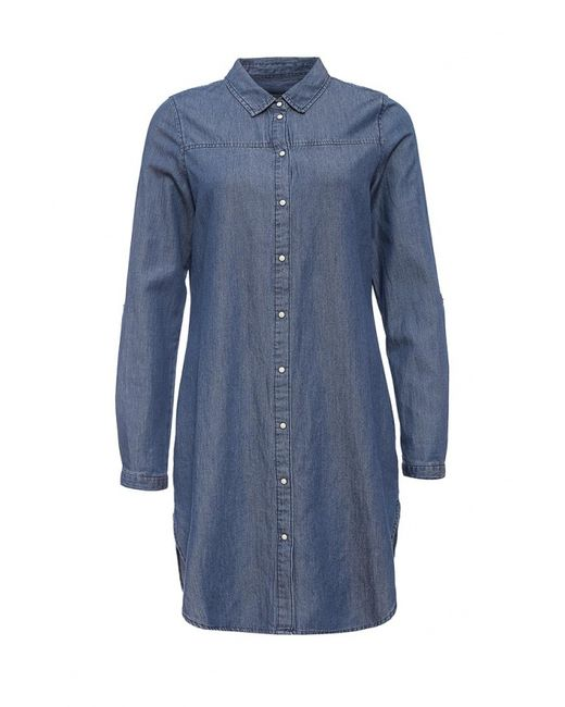 Vero Moda | Женское Синее Платье