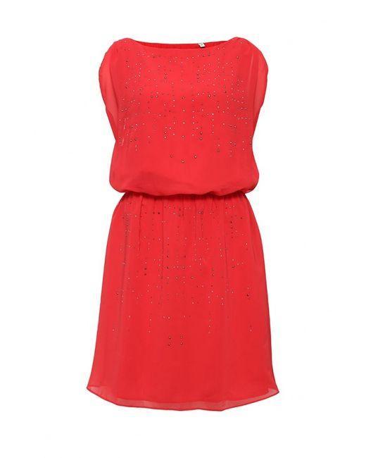 Naf Naf | Женское Красное Платье