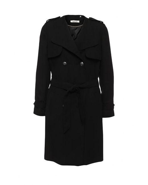 Naf Naf   Женское Чёрное Пальто