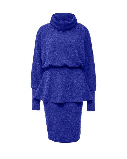 Sahera Rahmani   Женское Синее Платье