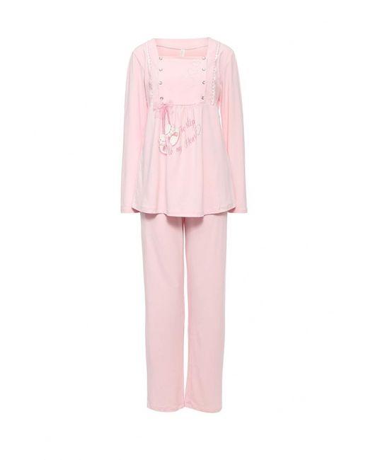 Relax Mode   Женская Розовая Пижама
