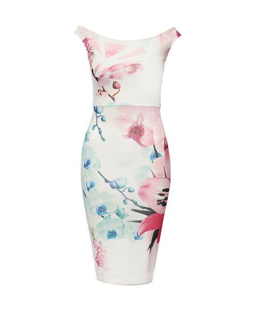 Missi London   Женское Белое Платье
