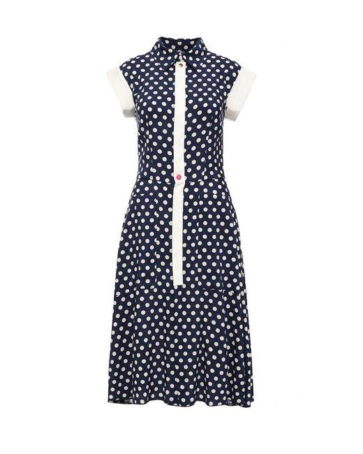 Bodra | Женское Синее Платье