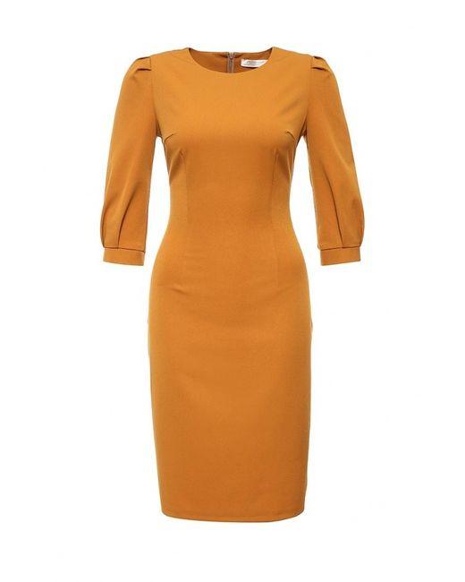 Olga Grinyuk   Женское Оранжевое Платье