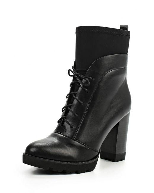 Inario | Женские Чёрные Ботильоны